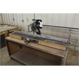 Delta Miter Saw, W/ Cut Table | Rigging Price: $40