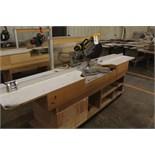 Dewalt Sliding Arm Miter Saw, W/ Cut Table | Rigging Price: $40