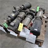 LOT: (1) Goulds Pump, 1 1/2 x 2 1/2, 10.6 in. Impeller w/50 HP Motor, (1) 30 HP Motor