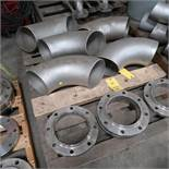 LOT: Assorted 8 in. SS Weld Fittings