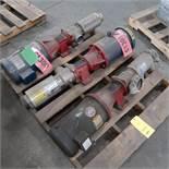 LOT: (2) Tonkaflo Pumps w/7 1/2 HP Motor, MDL SS12502G, (1) Tonkaflo Pump w/5 HP Motor, MDL SS5503G-