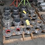 LOT: Assorted 6 in and 4 in. Weld Flanges