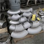 LOT: Assorted 6 in. SS Weld Fittings