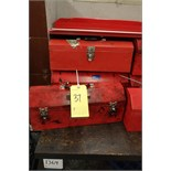 (5) Assorted Metal Tool Boxes