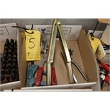 Quantity of Assorted Clamps, Punch Tools