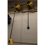 (6) Electrical Cord Reels Mounted on Wall