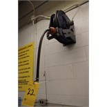 (8) Air Hose Reels Mounted on Wall