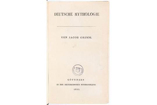 Jacob grimm deutsche mythologie online dating