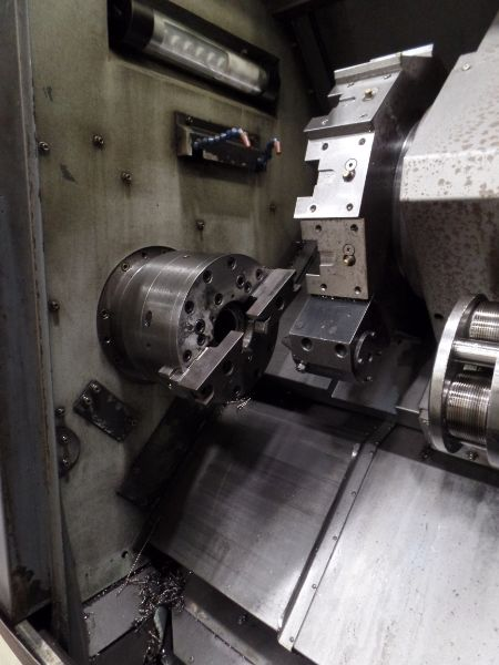 """Leadwell T-7, Fanuc 0i-TD, 20.4"""" SW, 13.8"""" Max. Turn Dia. x 21.6"""" Max. Turn Length, 2.4"""" Spindle - Image 9 of 10"""