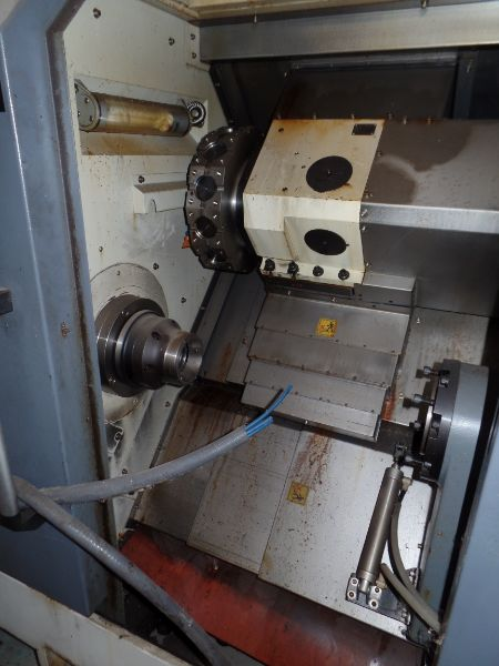 """Leadwell T-7, Fanuc 0i-TD, 20.4"""" SW, 13.8"""" Max. Turn Dia. x 21.6"""" Max. Turn Length, 2.4"""" Spindle - Image 5 of 6"""