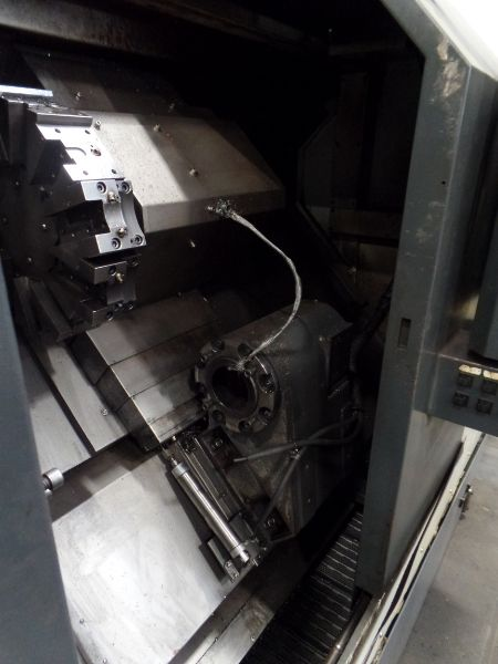 """Leadwell T-7, Fanuc 0i-TD, 20.4"""" SW, 13.8"""" Max. Turn Dia. x 21.6"""" Max. Turn Length, 2.4"""" Spindle - Image 6 of 10"""