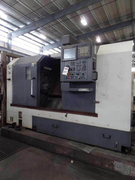 """Leadwell T-7, Fanuc 0i-TD, 20.4"""" SW, 13.8"""" Max. Turn Dia. x 21.6"""" Max. Turn Length, 2.4"""" Spindle - Image 2 of 7"""