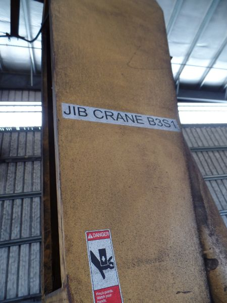 1 Ton Gorbel Jib Crane RM Loadmate 1 Ton Hoist - Image 5 of 6