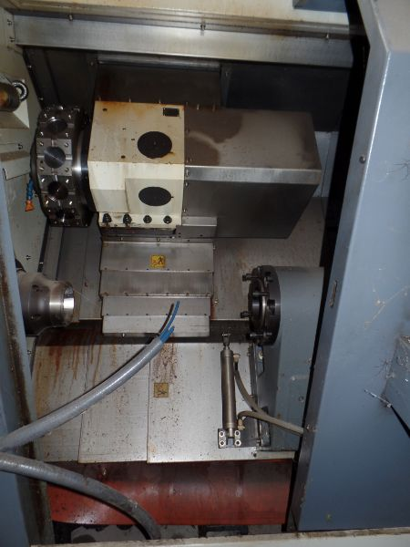 """Leadwell T-7, Fanuc 0i-TD, 20.4"""" SW, 13.8"""" Max. Turn Dia. x 21.6"""" Max. Turn Length, 2.4"""" Spindle - Image 4 of 6"""
