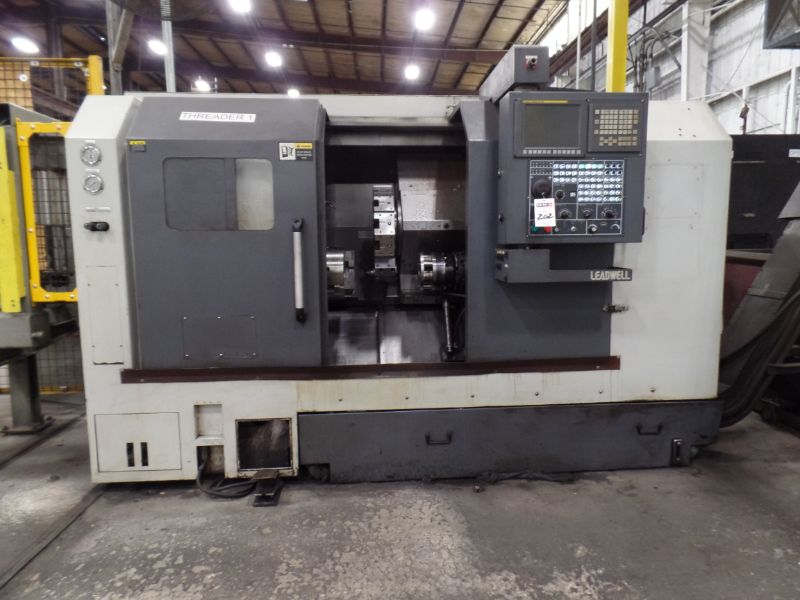 """Leadwell T-7, Fanuc 0i-TD, 20.4"""" SW, 13.8"""" Max. Turn Dia. x 21.6"""" Max. Turn Length, 2.4"""" Spindle - Image 4 of 10"""