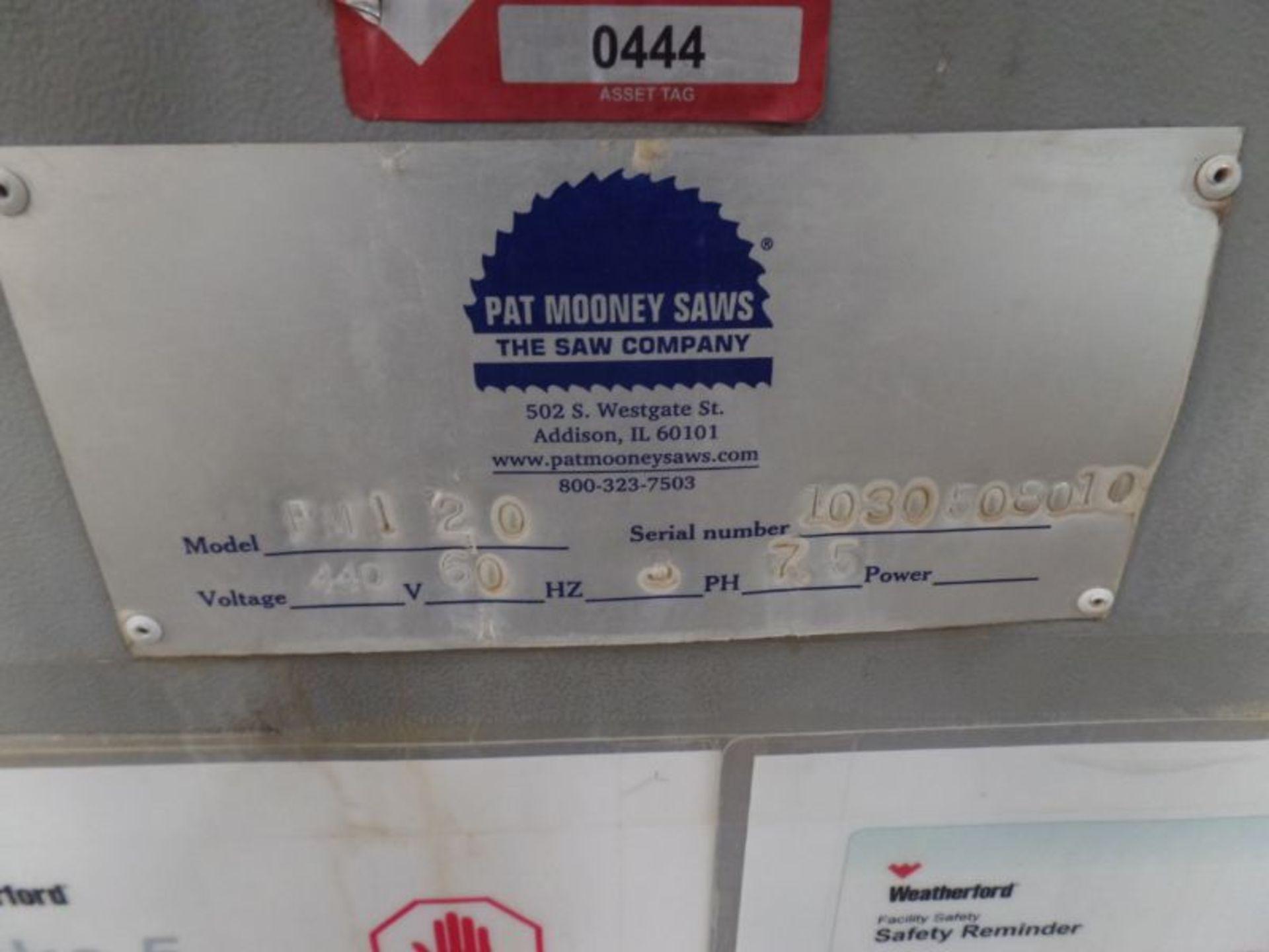 "Pat Mooney PMI-20 Mitering Upcut Saws, 24"" Blade, 7.5 HP, s/n 1030508010 - Image 6 of 6"