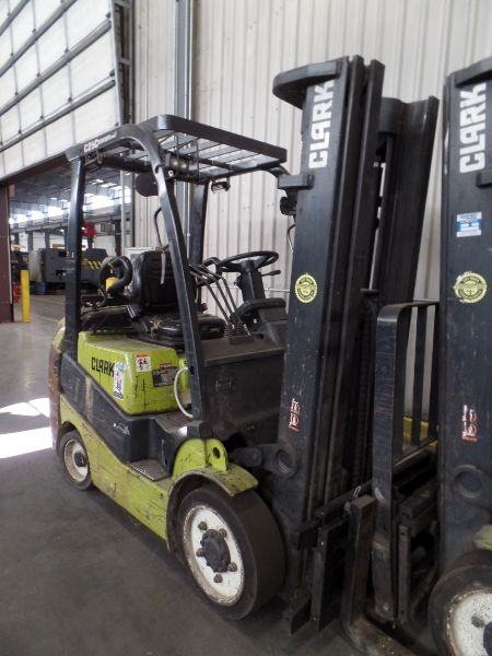 Clark C25 CL 4500lbs Cap. LPG Forklift, s/n C23200289588 *Needs Battery* - Image 3 of 4
