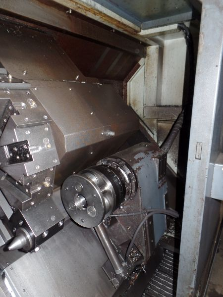 """Leadwell T-7, Fanuc 0i-TD, 20.4"""" SW, 13.8"""" Max. Turn Dia. x 21.6"""" Max. Turn Length, 2.4"""" Spindle - Image 8 of 10"""