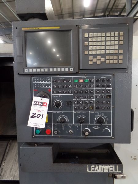 """Leadwell T-7, Fanuc 0i-TD, 20.4"""" SW, 13.8"""" Max. Turn Dia. x 21.6"""" Max. Turn Length, 2.4"""" Spindle - Image 3 of 7"""