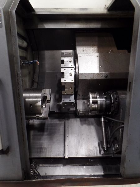 """Leadwell T-7, Fanuc 0i-TD, 20.4"""" SW, 13.8"""" Max. Turn Dia. x 21.6"""" Max. Turn Length, 2.4"""" Spindle - Image 7 of 10"""