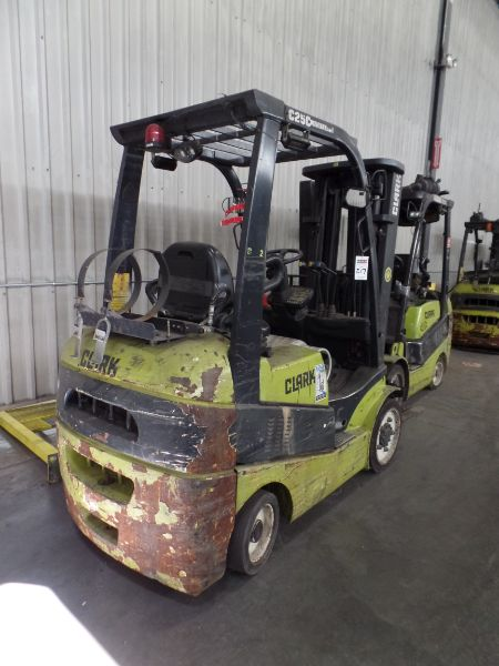 Clark C25 CL 4500lbs Cap. LPG Forklift, s/n C23200289588 *Needs Battery* - Image 2 of 4