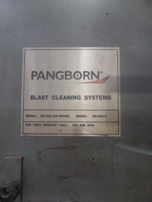 Pangborn ES1920-2 Blast Cleaning System, s/n ES1920-2/S-980427 - Image 10 of 10