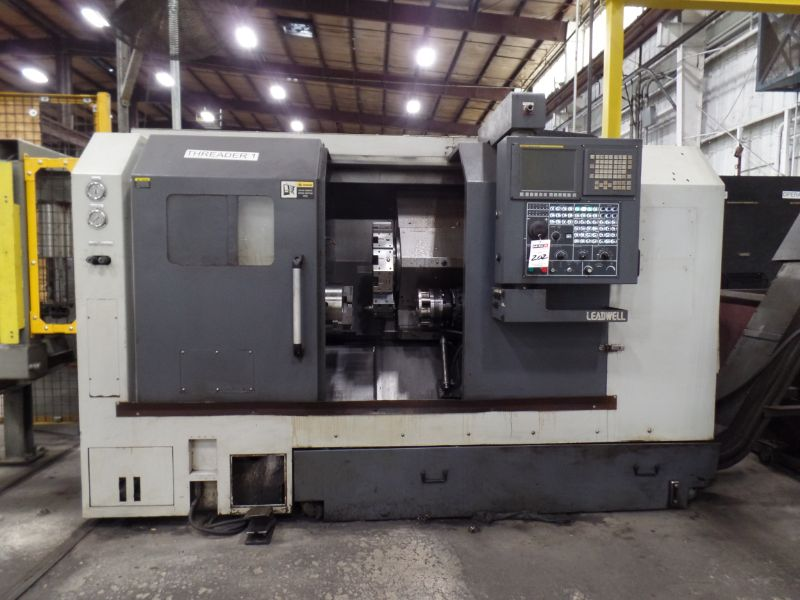 """Leadwell T-7, Fanuc 0i-TD, 20.4"""" SW, 13.8"""" Max. Turn Dia. x 21.6"""" Max. Turn Length, 2.4"""" Spindle - Image 5 of 10"""