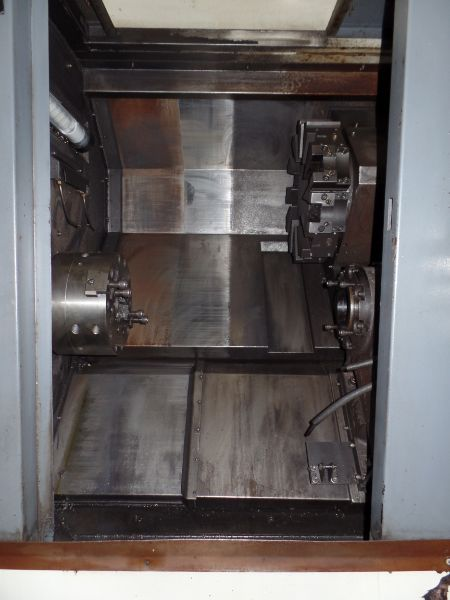 """Leadwell T-7, Fanuc 0i-TD, 20.4"""" SW, 13.8"""" Max. Turn Dia. x 21.6"""" Max. Turn Length, 2.4"""" Spindle - Image 4 of 7"""