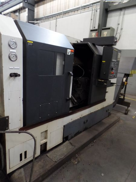 """Leadwell T-7, Fanuc 0i-TD, 20.4"""" SW, 13.8"""" Max. Turn Dia. x 21.6"""" Max. Turn Length, 2.4"""" Spindle - Image 3 of 10"""
