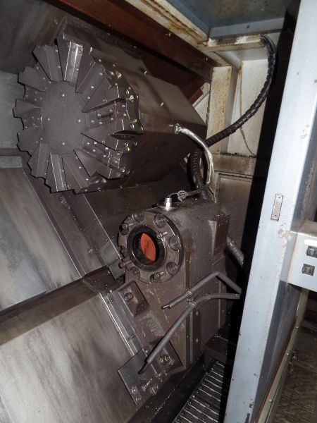 """Leadwell T-7, Fanuc 0i-TD, 20.4"""" SW, 13.8"""" Max. Turn Dia. x 21.6"""" Max. Turn Length, 2.4"""" Spindle - Image 5 of 7"""