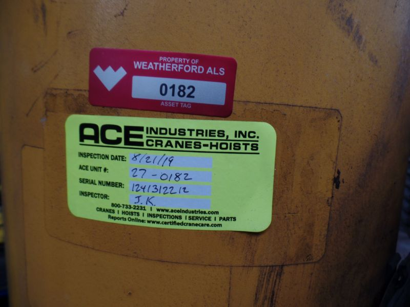 1 Ton Gorbel Jib Crane RM Loadmate 1 Ton Hoist - Image 5 of 5