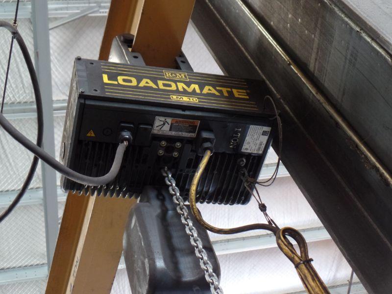 1 Ton Gorbel Jib Crane RM Loadmate 1 Ton Hoist - Image 4 of 6