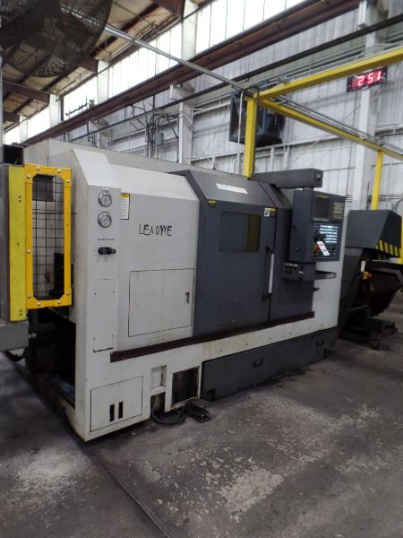"""Leadwell T-7, Fanuc 0i-TD, 20.4"""" SW, 13.8"""" Max. Turn Dia. x 21.6"""" Max. Turn Length, 2.4"""" Spindle - Image 2 of 10"""