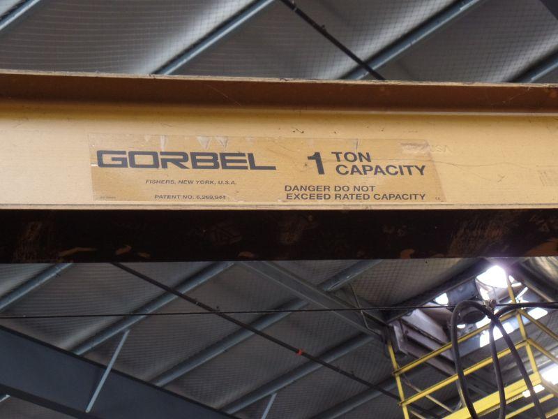 1 Ton Gorbel Jib Crane - Image 3 of 5