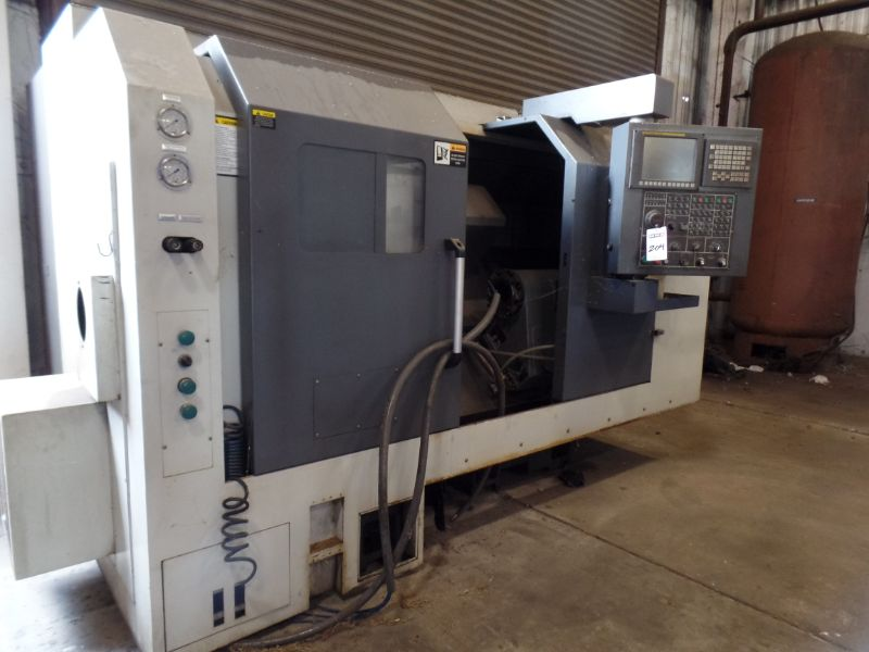 """Leadwell T-7, Fanuc 0i-TD, 20.4"""" SW, 13.8"""" Max. Turn Dia. x 21.6"""" Max. Turn Length, 2.4"""" Spindle - Image 2 of 6"""
