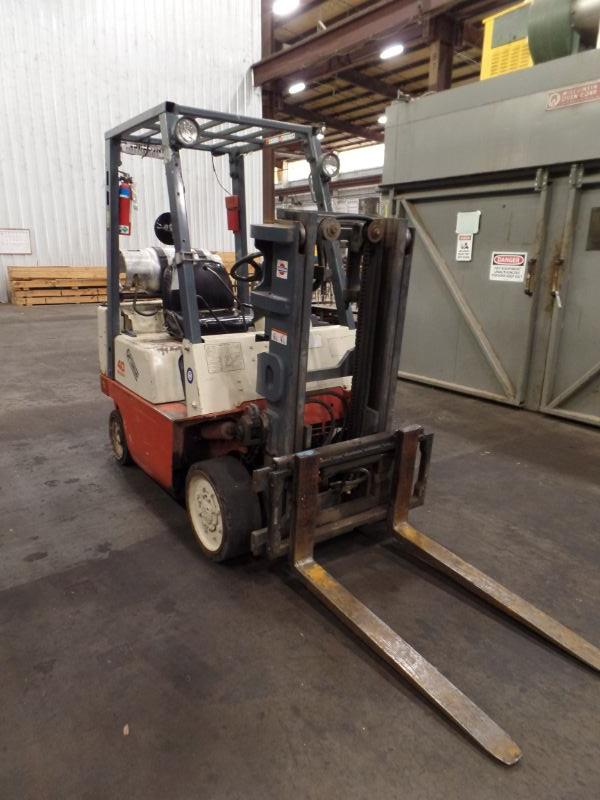 Nissan 40 Optimum Forklift, s/n CPJ02-2P7323?, 24,042 hrs. - Image 4 of 5