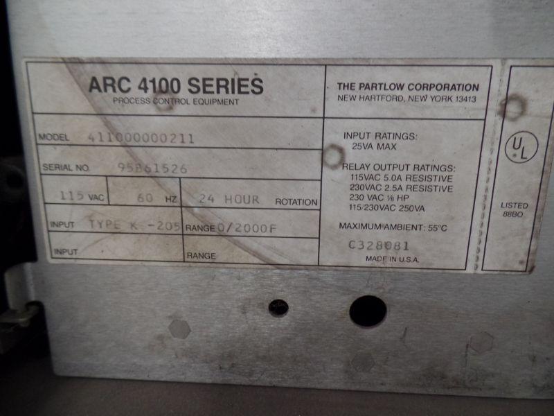 ARC 4100 series, 2000f Max Temp, Honeywell Control, s/n 95B61527 - Image 7 of 8