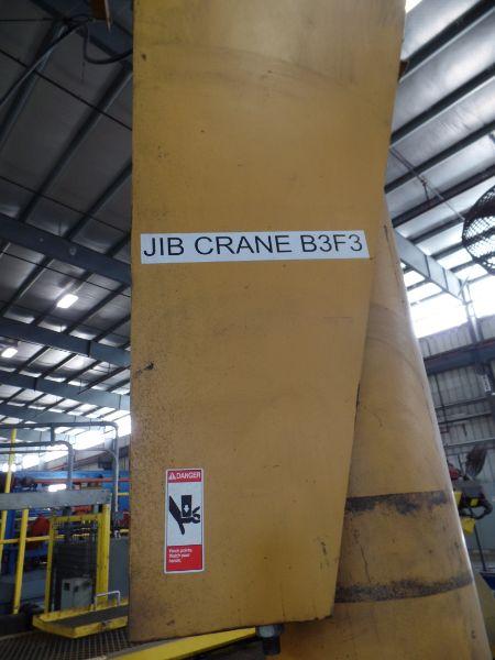1 Ton Gorbel Jib Crane RM Loadmate 1 Ton Hoist - Image 4 of 5