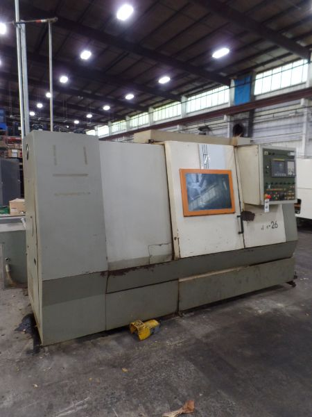 """Fortune Vturn-26, Fanuc 0i-TC, 20.5"""" SW, 15"""" Max. Turn Dia. x 25.6"""" Centers, 3.4"""" Spindle Bore, - Image 2 of 8"""