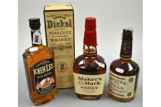 Bourbon Comprising Southern Comfort 43 1 Litre Ten High 40