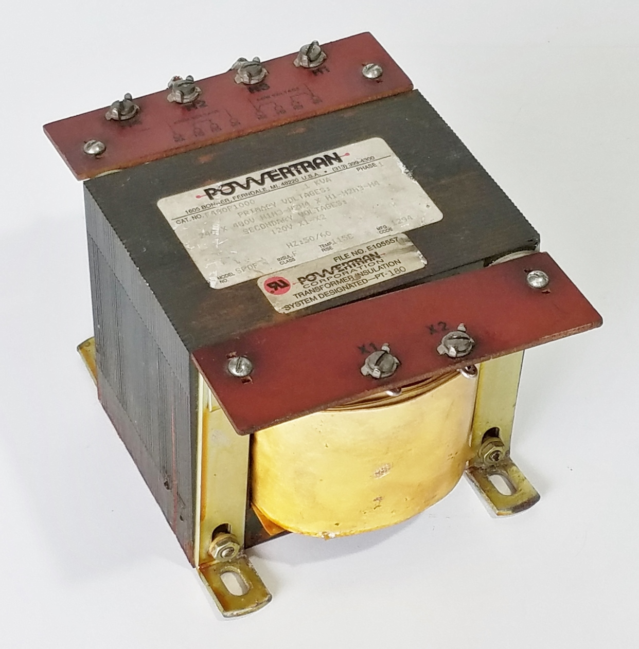 Lot 14 - POWERTRAN STEP DOWN TRANSFORMER
