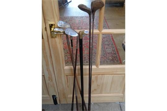 Results 1 - 48 of 578. 3 Antique Vintage Hickory Wood Shaft Golf Clubs, Woods, Driver..