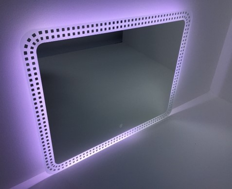 Bathroom Illuminated LED Mirror - Image 2 of 2