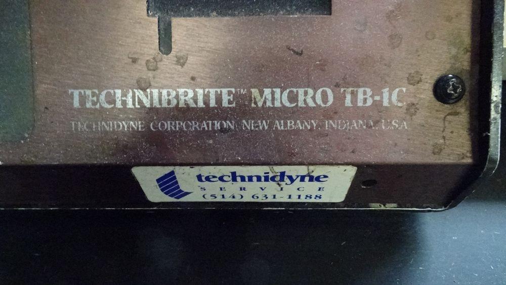 Lot 207 - TECHNIBRITE MICRO TB-1C BRITENESS METER C/W PRINTER, S/N 247703