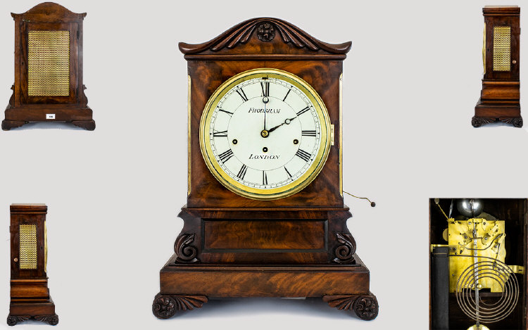 Lot 100 - William Frodsham FRS (1728-1807) A Very Impressive Regency Bracket Clock