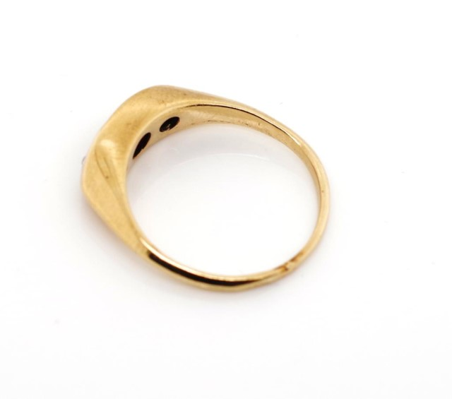 Antique diamond and 10ct rose gold ring - Image 5 of 6