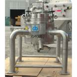 Used- Cherry Burrell Reactor, 5.2 gallon (20 liter), 316L stainless steel