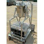 Used- Precision Stainless Steel Reactor, 17 Liter (4.49 Gallon), 316L Stainless Steel