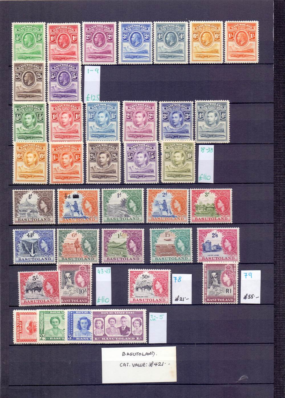 Lot 8 - STAMPS : BRITISH COMMONWEALTH, Africa,