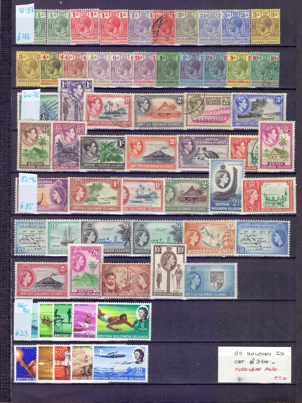 Lot 13 - STAMPS : BRITISH COMMONWEALTH,